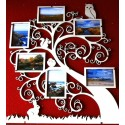 Arbre Pêle-Mêle 6 photographies