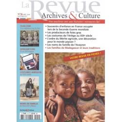 La revue d'Archives & Culture n°26 (Sommaire)