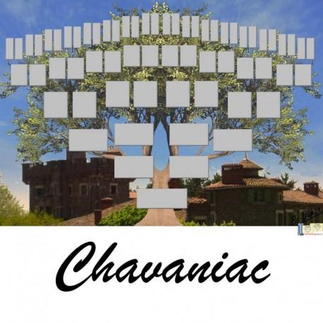 Présentation Chavaniac - Arbre ascendant vierge 6 générations