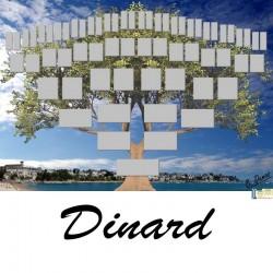 Dinard - Arbre ascendant vierge 6 générations