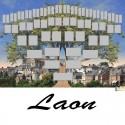 Laon - Arbre ascendant vierge 6 générations