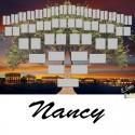 Nancy - Arbre ascendant vierge 6 générations