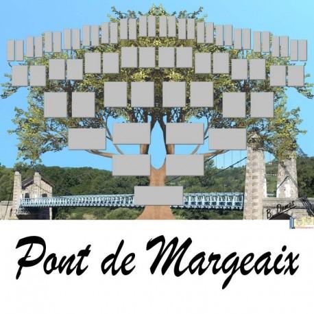 Présentation Pont-de-Margeaix - Arbre ascendant vierge 6 générations