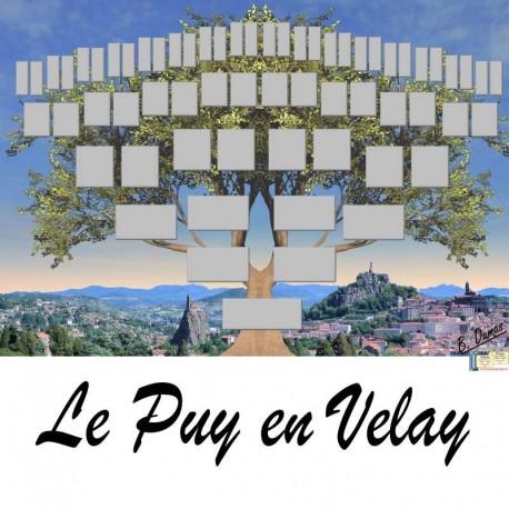 Présentation Le Puy en Velay - Arbre ascendant vierge 6 générations