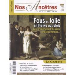 Fous et Folie en France autrefois