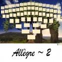 Allègre 2 - Arbre ascendant vierge 7 générations