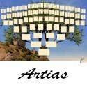 Artias - Arbre ascendant vierge 7 générations