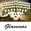 Glavenas - Arbre ascendant vierge 7 générations