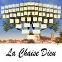 La Chaise Dieu - Arbre ascendant vierge 7 générations