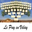 Le Puy en Velay - Arbre ascendant vierge 7 générations