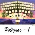 Polignac 1 - Arbre ascendant vierge 7 générations