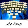 Présentation Le Loup - Arbres ascendants vierges 7 générations