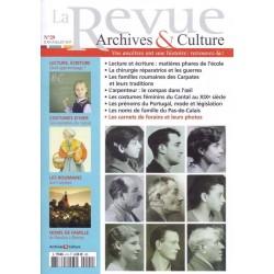 La revue d'Archives & Culture n°29