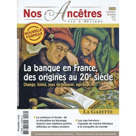 La banque en France des origines au XXe siècle