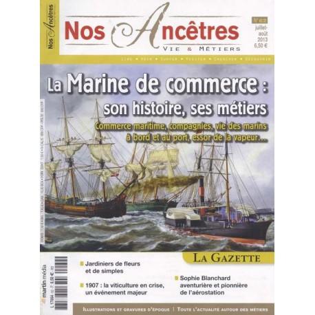La marine de commerce : son histoire, ses métiers