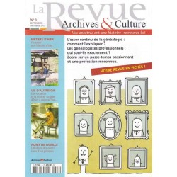 La revue d'Archives & Culture n°03