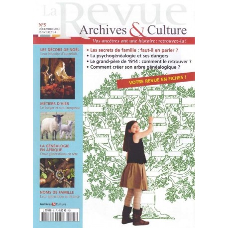 La revue d'Archives & Culture n°05