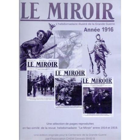 Le Miroir, Année 1916