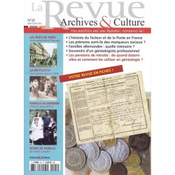 La revue d'Archives & Culture n°15