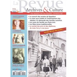 La revue d'Archives & Culture n°16