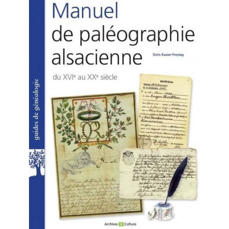 Manuel de paléographie alsacienne