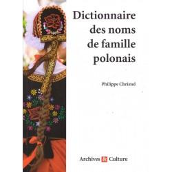 Dictionnaire des noms de famille polonais