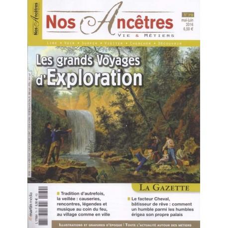 Les grands voyages d'exploration