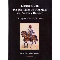 Dictionnaire des officiers de Hussards de l'ancien régime.