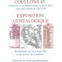 Exposition généalogique de Coullons