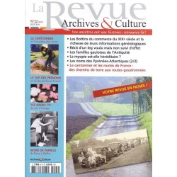 La revue d'Archives & Culture n°22
