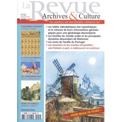 La revue d'Archives & Culture n°23
