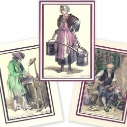 cartes d'anciens métiers (lot2)