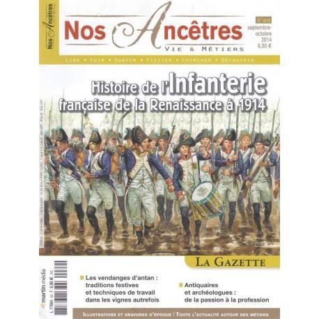Histoire de l'infanterie Française de la Renaissance à 1914