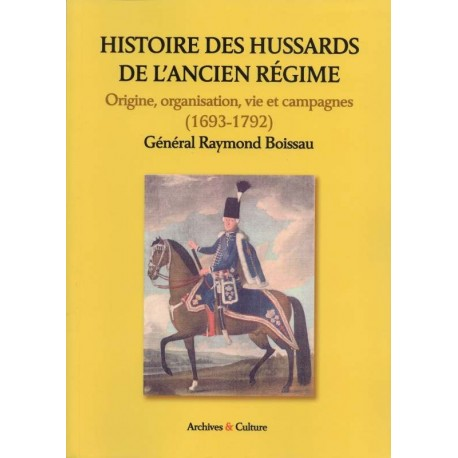 Histoire des Hussards de l'ancien régime