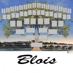 Présentation Blois - Arbre ascendant vierge 6 générations