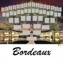 Bordeaux - Arbre ascendant vierge 6 générations