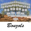 Bouzols - Arbre ascendant vierge 6 générations