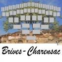 Brives-Charensac - Arbre ascendant vierge 6 générations