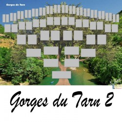 Présentation Gorges du Tarn 2- Arbre ascendant vierge 6 générations