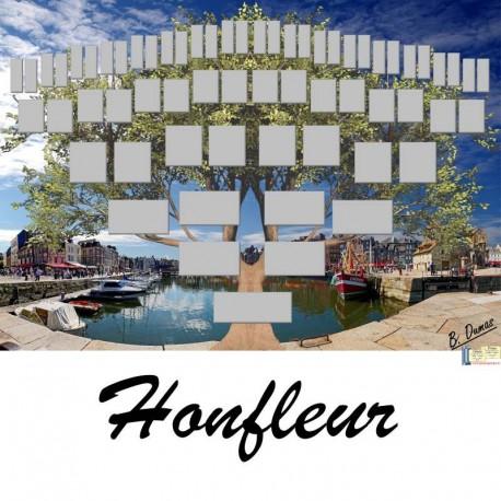 Présentation Honfleur - Arbre ascendant vierge 6 générations