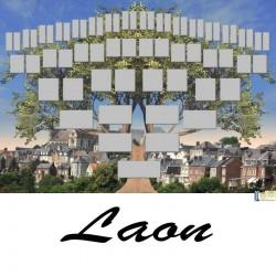 Présentation Laon - Arbre ascendant vierge 6 générations