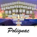 Polignac - Arbre ascendant vierge 6 générations