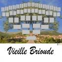 Vieille-Brioude - Arbre ascendant vierge 6 générations