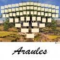 Araules - Arbre ascendant vierge 7 générations