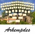 Arkempdes - Arbre ascendant vierge 7 générations