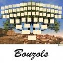 Bouzols - Arbre ascendant vierge 7 générations