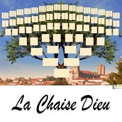 Présentation La Chaise Dieu - Arbre ascendant vierge 7 générations