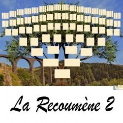 Présentation La Recoumène 1 - Arbres ascendants vierges 7 générations