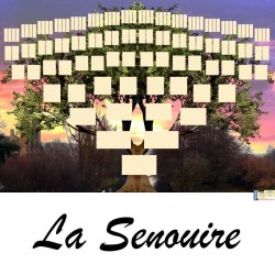 La Senouire - Arbre ascendant vierge 7 générations