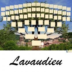Présentation Lavaudieu - Arbres ascendants vierges 7 générations